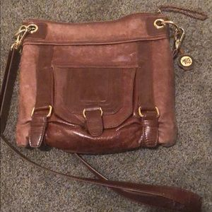 The sak leather crossbody